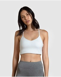 First Base - Recreation Crop Top