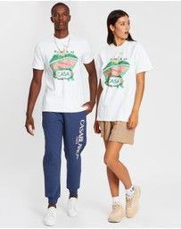 Casablanca - Casa Court Printed Cotton T-Shirt