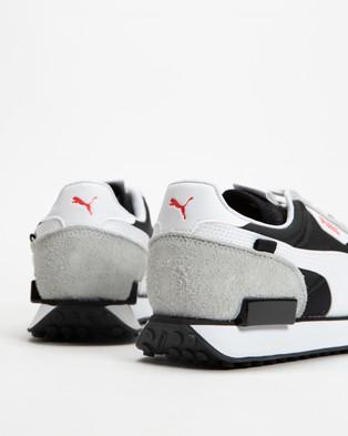 Puma Future Rider Vintage   Unisex - Lifestyle Sneakers (Puma Black & Quarry)