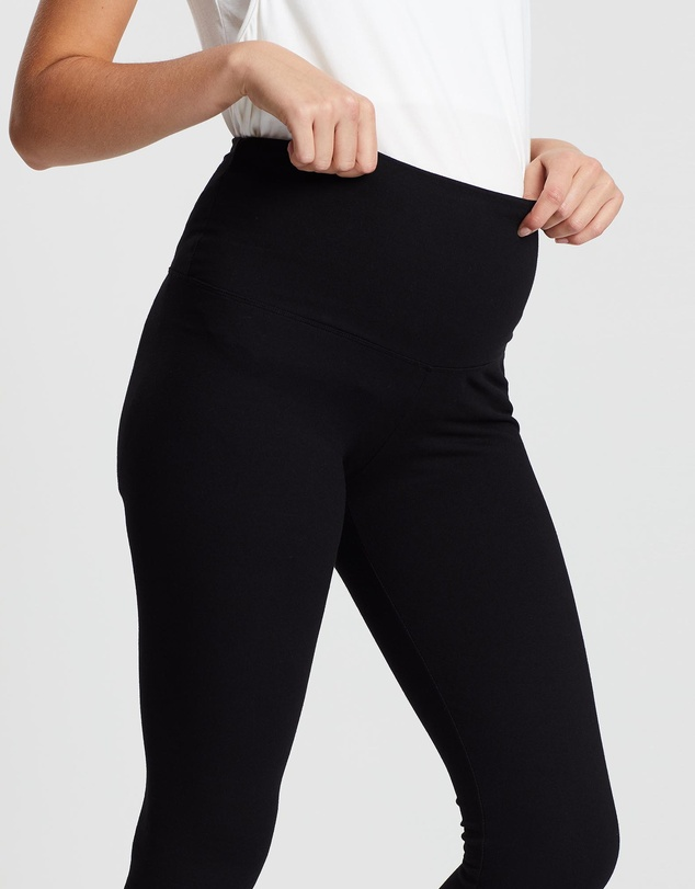 Angel Maternity - Postnatal Tummy Tight Control Built-In Shaping Leggings
