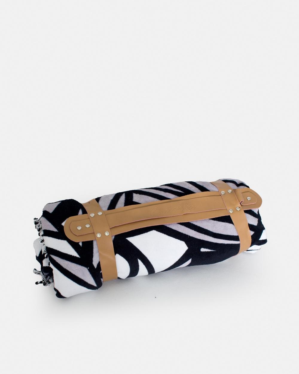 Chuchka Leather Carry Strap Tan Gym & Yoga brown