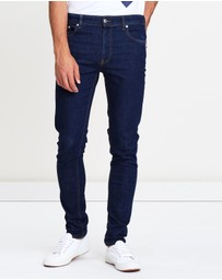 LOVE MOSCHINO - Peace Denim Skinny Jeans