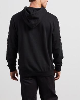 Afends Get Better Hemp Pull On Hood - Hoodies (Black)