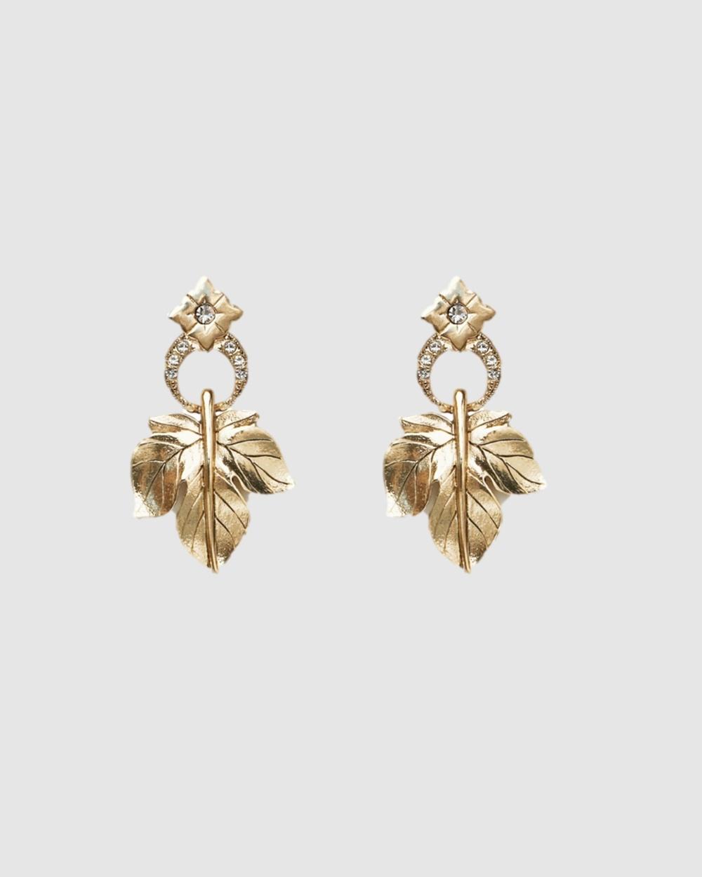 Kitte Ambrosia Earrings Jewellery Gold