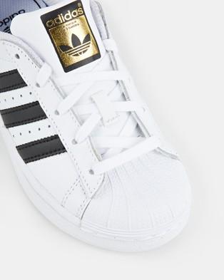 adidas Originals Superstar Foundation Pre School - Lifestyle Shoes (White/Black)
