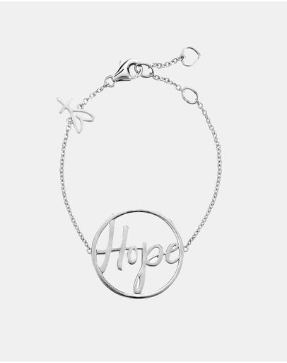 Secret Sisterhood Hope Bracelet Silver