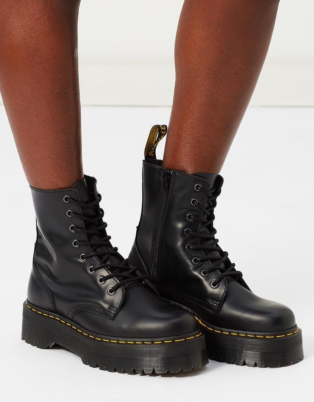 Women Unisex Jadon 8-Eye Boots
