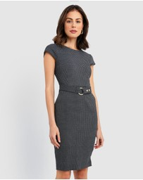 Forcast - Jaliyah Belted Dress