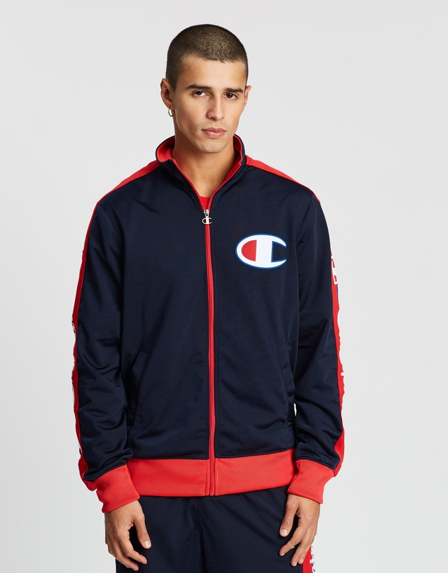 Champion - Taped Tricot Track Jacket