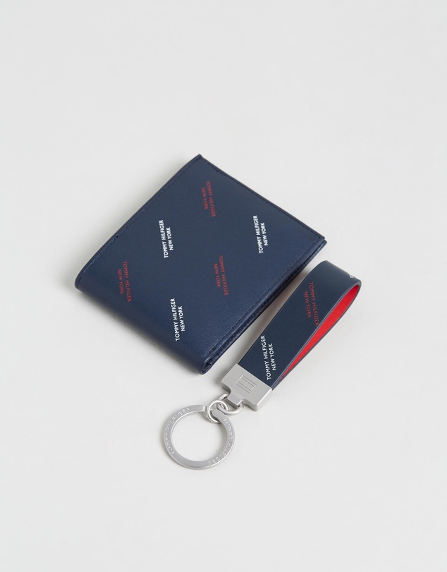 Tommy Hilfiger - Mini Credit Card Wallet & Key Ring Gift Box