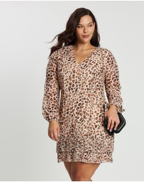 Cooper St - CS CURVY Animal Instinct Long Sleeve Mini Dress