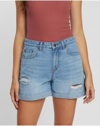 Rusty - Bae Boyfriend Denim Shorts