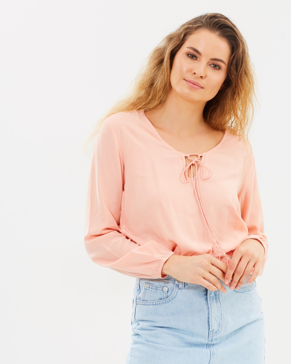 All About Eve Norah Top Tops Dusty Pink Norah Top