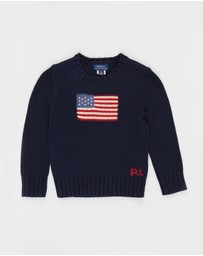 Polo Ralph Lauren - Flag Sweater - Kids (5-7 yrs)