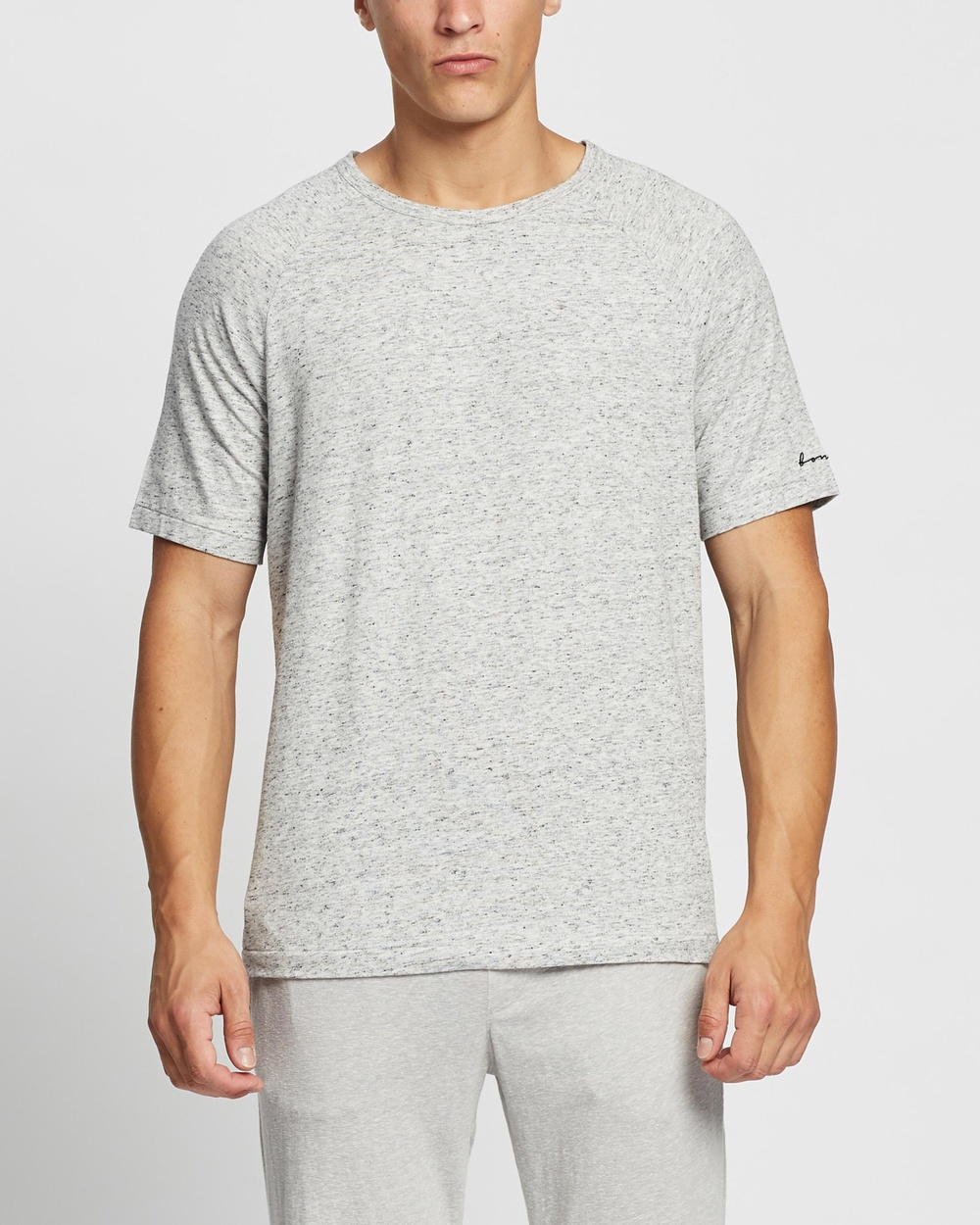 Bonds - Comfy Livin' Jersey Tee - T-Shirts & Singlets (Lazy Marle) Comfy Livin' Jersey Tee