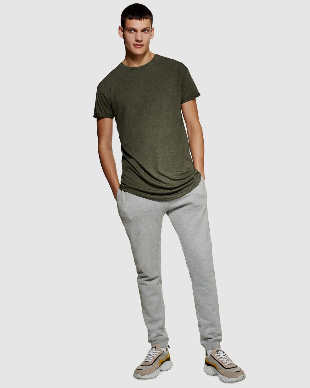 bfdeb00d1 Scotty Short Sleeve Longline T-Shirt by Topman Online | THE ICONIC |  Australia