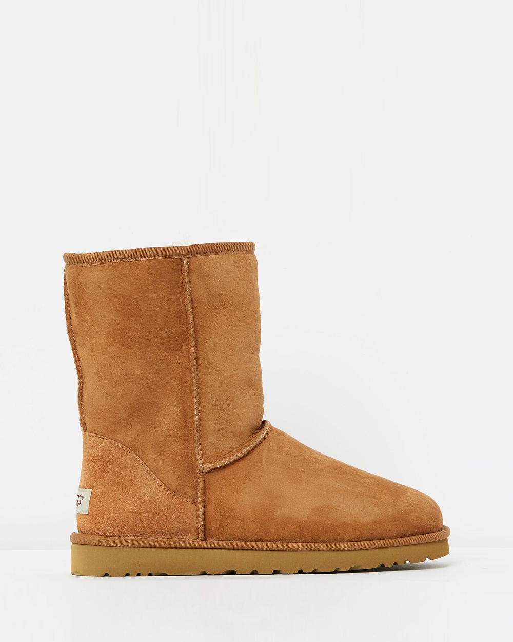 UGG Mens Classic Short Boots Slippers & Accessories Chestnut