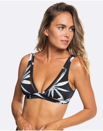 Roxy - Womens Find Your Wild Elongated Tri Separate Bikini Top