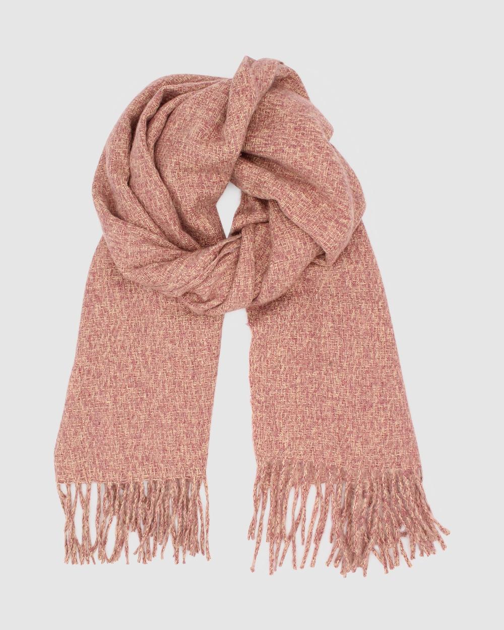 Morgan & Taylor Teresa Scarf Scarves Gloves Pink
