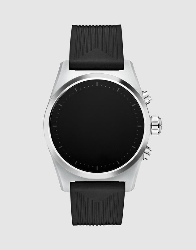 Women Summit Lite Aluminium Grey and Rubber Watch