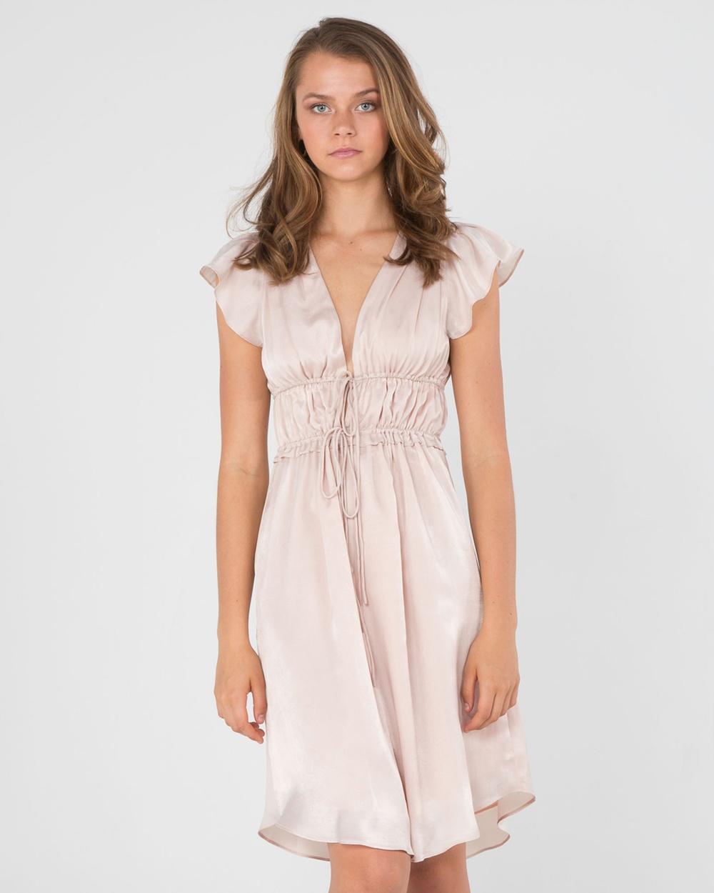 Amelius Athena Dress Dresses Blush Athena Dress