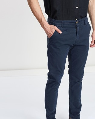 Academy Brand The Cooper Chinos - Pants (Navy)