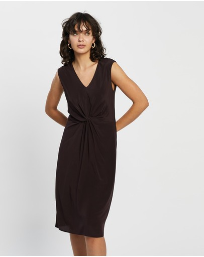 David Lawrence - Marion Silk Mix Dress