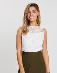 Otto Mode - Lara Lace Top