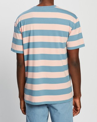 Locale SS Stripe Tee - T-Shirts & Singlets (Multi)