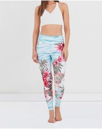 Dharma Bums - Island Soul High Waist Leggings - 7/8