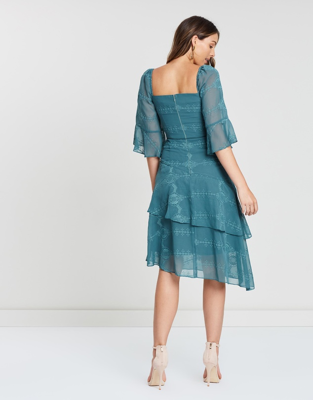 Cooper St - Fern Tie Waist Asymmetric Dress