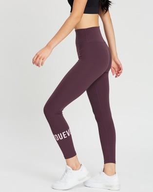 Doyoueven Stretch Lite Leggings - 7/8 Tights (Aubergine Purple)