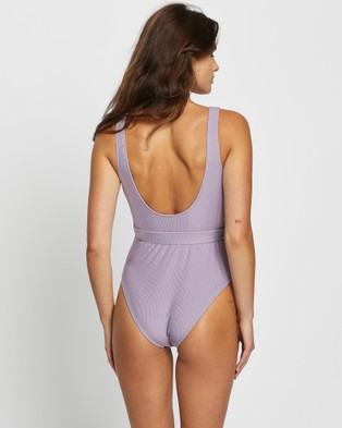 LENNI the label Currents Full Piece - One-Piece / Swimsuit (Lilac)