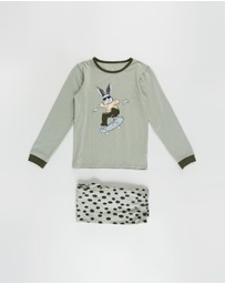 Cotton On Kids - Orlando Long Sleeve PJ Set - Kids-Teens
