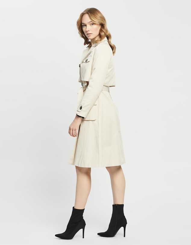 Women Take Me There Trench Coat