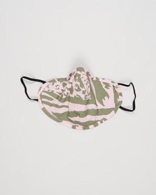 TOPSHOP Face Mask Set 3 Pack Masks Star, Animal & Black 3-Pack