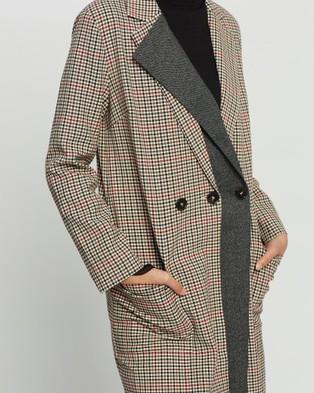 Grace Willow Bishop Coat - Coats & Jackets (Check)