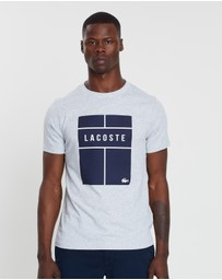 Tennis Court Logo Tee