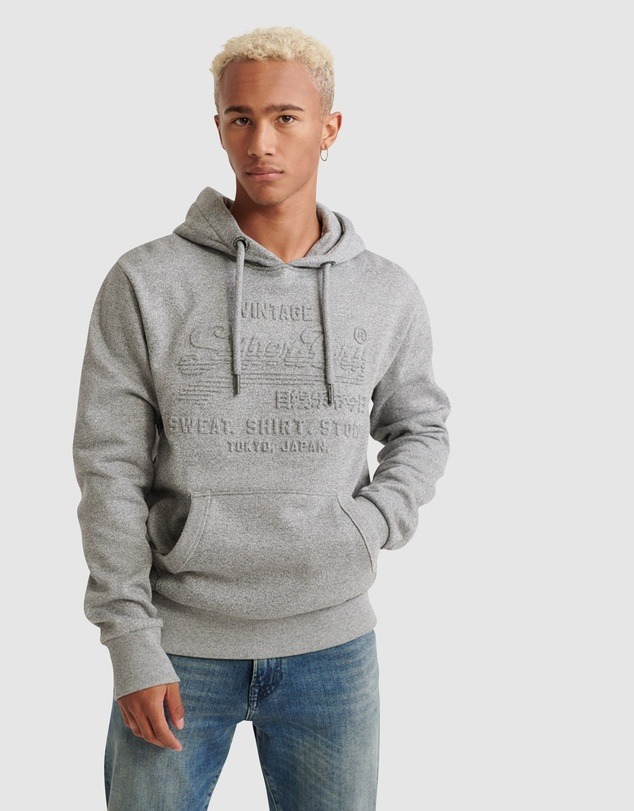 Superdry - Sweat Shirt Shop Embossed Hood