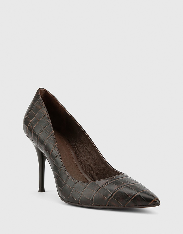 0872cd14eaf Hughes Pointed Toe Stiletto Heels by Wittner Online | THE ICONIC ...