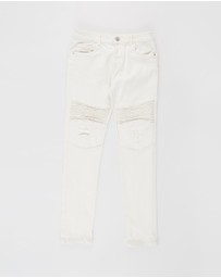 Cotton On Kids - Biker Moto Jeans - Kids