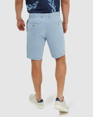 SABA Thomas Chino Shorts - Chino Shorts (Light Blue)