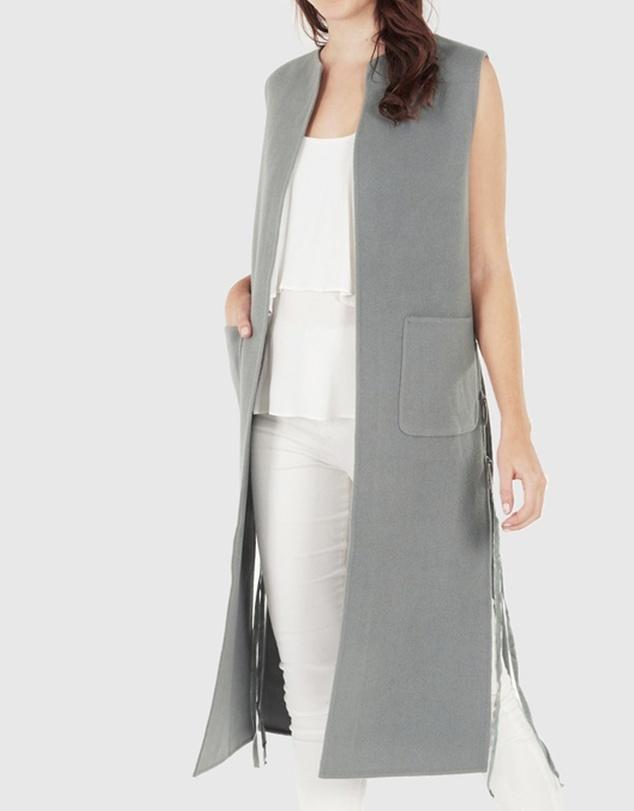 Women Taylor Wool Vest