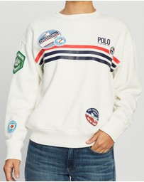 Polo Ralph Lauren - Crew Neck Patch Sweater