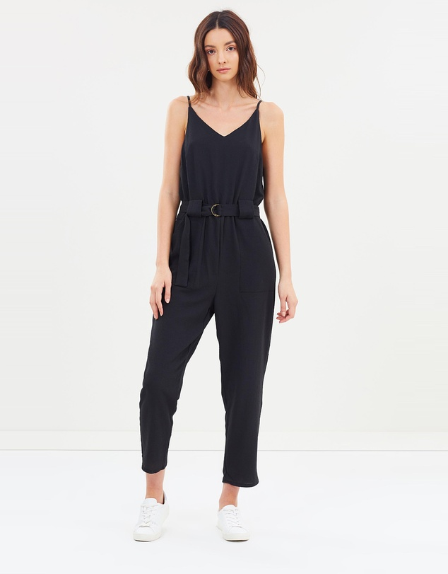 f6c2c266ae0 Woven Strappy Jackie Jumpsuit by Cotton On Online