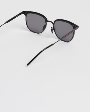 RIXX Eyewear Eclipse - Square (Black Polarised)