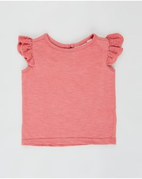 Cotton On Baby - Matilda Flutter Sleeve Top - Babies
