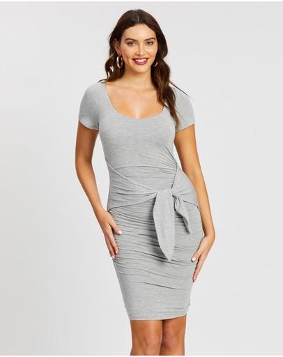 Fresh Soul Evora Dress Grey