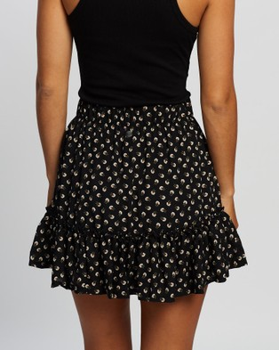 All About Eve Summer Ditsy Mini Skirt Skirts PRINT