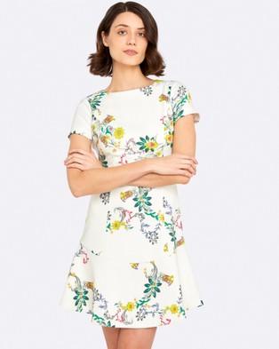 Oxford – Charlotte Linen Floral Dress